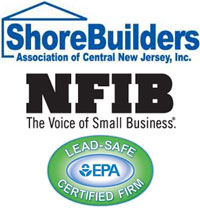 member shore builders, NFIB, and EPA Certified.